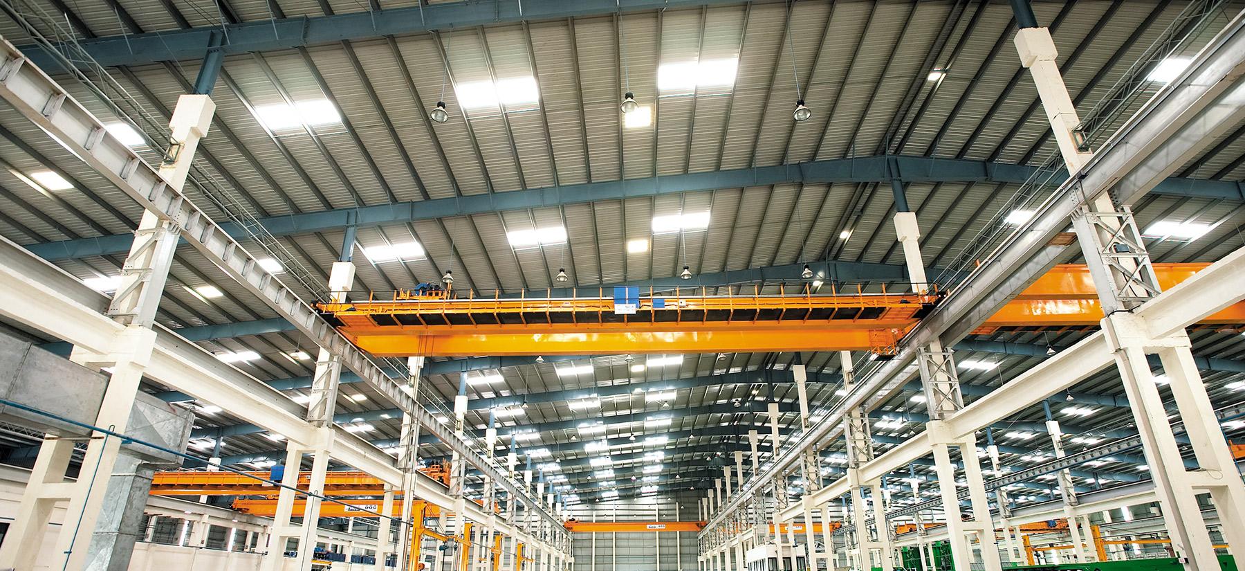 Pre Engineered Building Manufacturing in Gujarat | Worldlink PEB